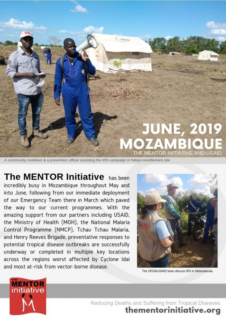 MENTOR IN MOZAMBIQUE UPDATE (JUNE 2019) | The MENTOR Initiative