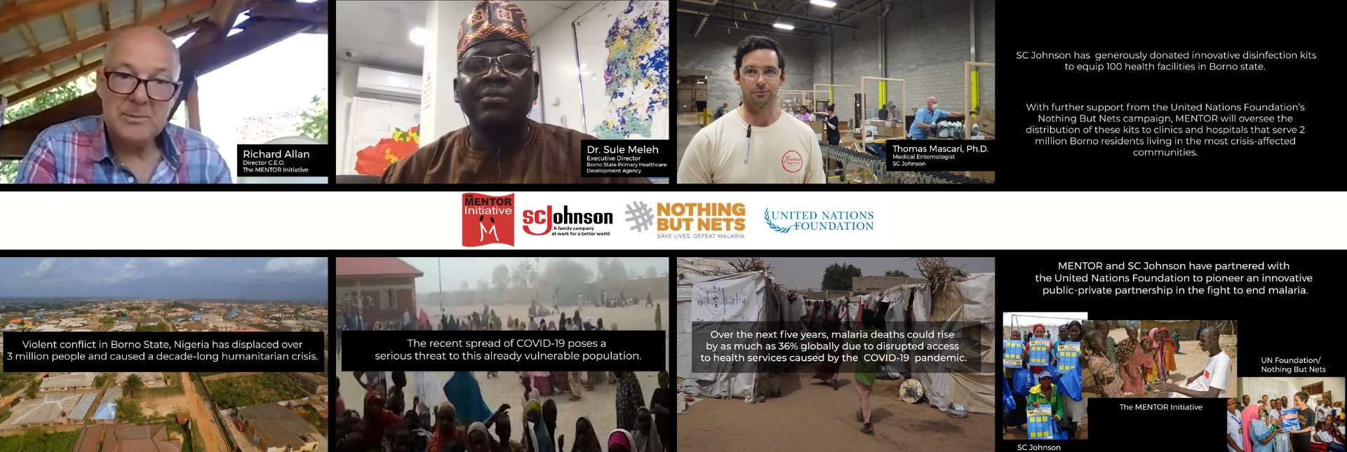 Supporting Frontline Health Workers in Nigerian Conflict Zones (with SC Johnson and Nothing But Nets)