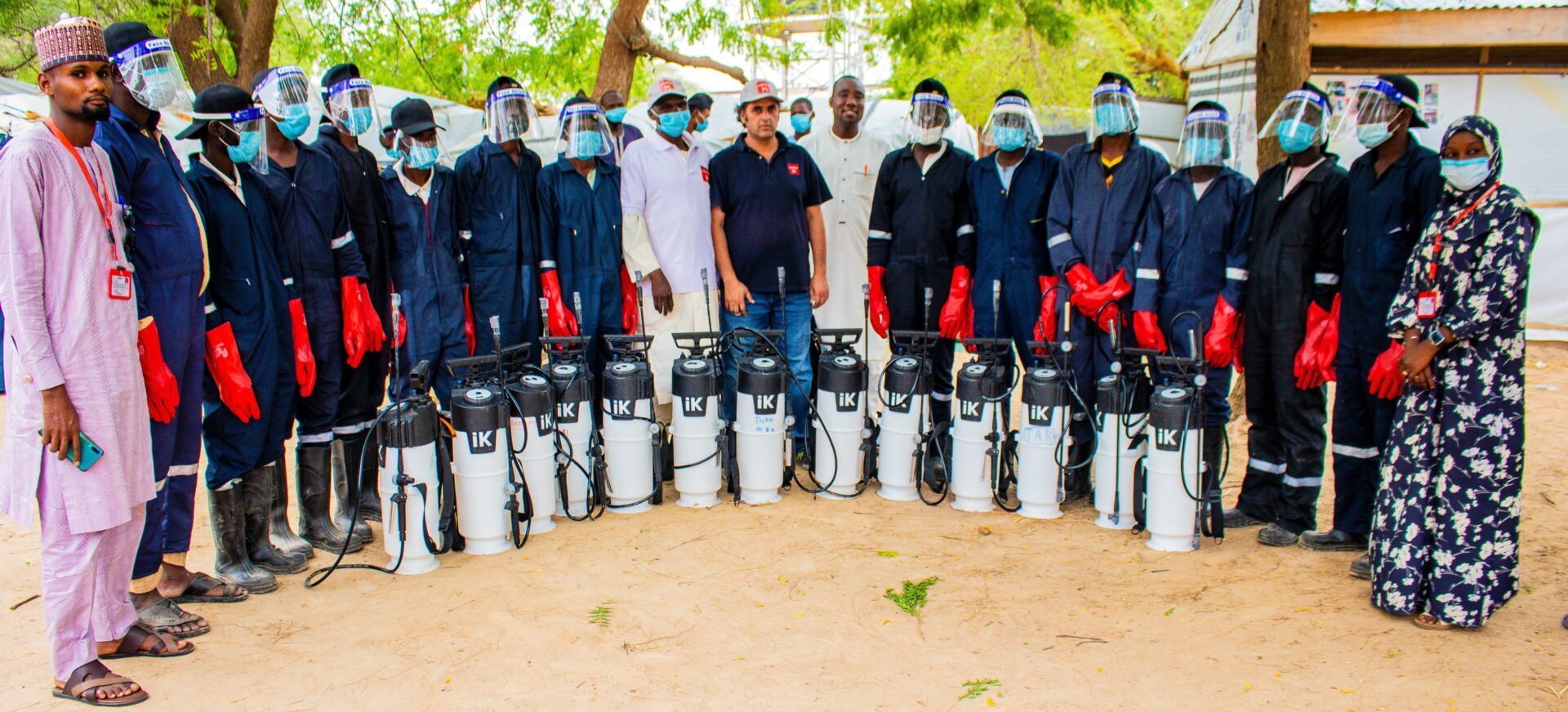 Reporting the Impact of Indoor Spraying & Education Campaign in Nigeria